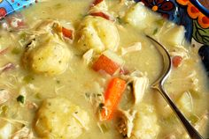 Homemade chicken and dumpling recipe