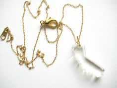 Clear state necklackes: CALIFORNIA by muzdesign on Etsy