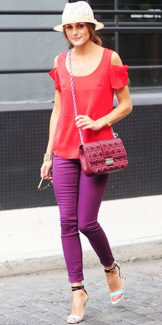 Look of the Day: September 3, 2012 - Olivia Palermo : InStyle.com