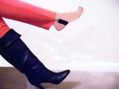 Deluxe Elastic Pant Clip Stirrup Boot Straps. $10.00, via Etsy.