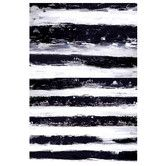 Found it at AllModern - Stripes Horizontal Painting Print on Canvas