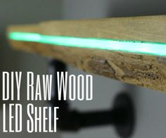 In this Instructable I will be showing you step-by-step how to make this beautiful one of a kind color changing raw wood LED shelf. This project was a lot of fun to make and I am very happy with the finished product. Overall this project won