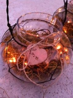 Firefly Lanterns Light Up Your Special Day by ChiKaPea on Etsy, $48.50