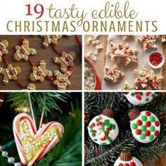 Edible Christmas Ornaments