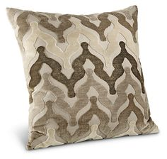"Mahal Pillows - Accent Pillows - Bedroom - Room & Board 20""x20"""