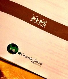 Green&Glocal Style @Hotel Milano Scala #zeroemissionhotel #bio #eco #menu
