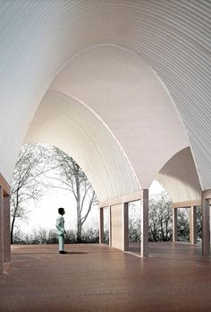 Ryan W Kennihan Architects, Leaning Vault House
