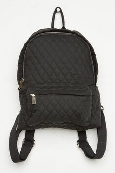 Brandy ♥ Melville | Quilted Mini Backpack - Backpacks - Accessories