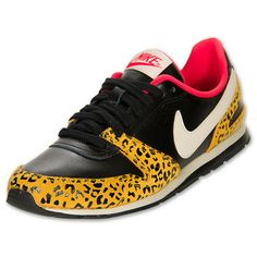 Nike Eclipse II Women's Casual Shoes | FinishLine.com | Black/Leopard/Pink ($59.00)