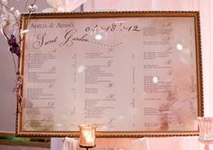 family tree theme weddings | As you can see, wedding wishes and advice cards were supplied as were ...