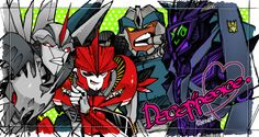 Transformers Prime - Swag Decepticon Art✶ #TransformersPrime #TFP #TV_Show
