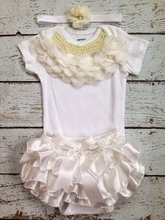 Christening/Baptism/Bringing Home outfit/First by BabyTrendzz, $59.99