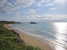 Licata, La Rocca beach. Sicilia