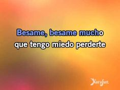 Download MP3: http://www.karaoke-version.com/mp3-backingtrack/andrea-bocelli/besame-mucho.html  Sing Online: http://www.karafun.com/karaoke/andrea-bocelli/besame-mucho/    * This version contains a training vocal guide to help you learn the song. The karaoke version without the vocal guide is available on www.karafun.com. This recording is a cov...