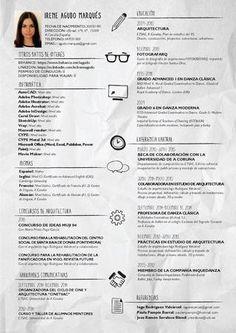 Plan de estudios plantillas de curr culum and curr culum for Curriculum arquitecto