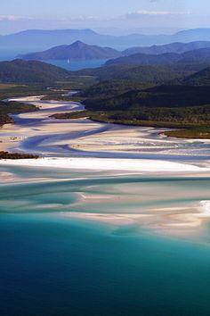 Whitehaven Beach, Queensland, Australia by Guy Cohen