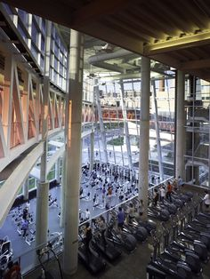 Student Activity and Recreation Center, Ohio State University, Columbus, Ohio; 1999/2007