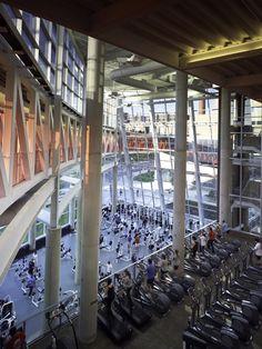 Student Activity and Recreation Center, Ohio State University, Columbus, Ohio; 1999/2007