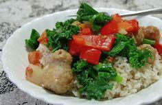 Kale-Turkey Rice Bowl Recipe