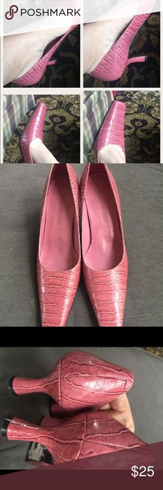 "Pretty in these Pink BANDOLINO Heels SHOES Pumps Beautiful, 2.5"" Heels! Bandolino Shoes"