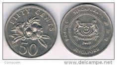 Singapour  -  50 cents 2007