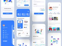 Android apps 445363850652010476 - Event App UI App by Jawadur Rahman for NICE 100 on Dribbble Source by mayadogg Web Design, Best App Design, App Ui Design, Brochure Design, App Design Inspiration, Design Thinking, Application Ui Design, Conception D'applications, Dashboard App