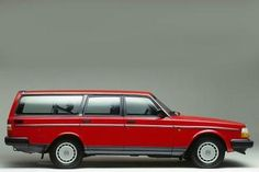 I  Love love! a volvo 240 DL wagon!! I had one before I was even married. Mine was a navy 1988 model with a luggage rack.