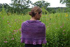 Prairie Ridge shawl by Susan B. Anderson