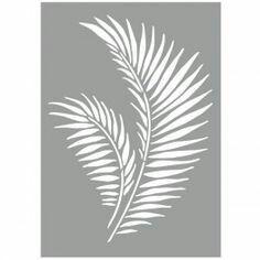Stencil Patterns, Stencil Designs, Wall Art Designs, Paint Designs, Wall Design, Leaf Stencil, Stencil Art, Homemade Stencils, Glass Etching Stencils