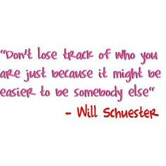 I am obsessed with Glee and this quote is so true (: