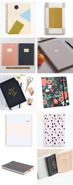 Mega 2016 Planner + Calendar Roundup - Design Crush