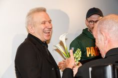Since 40 years, he is one of the greatest designers of all times: Jean Paul Gaultier at the premier of the arte production: Jean Paul Works by Loic Prigent - Picture : Marco Kokkot