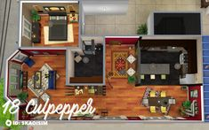 blame the nargles — My first apartment renovation! This is a… blame the nargles — My first apartment renovation! Sims 4 House Plans, Sims 4 House Building, House Floor Plans, Sims 4 Houses Layout, House Layouts, Sims City Living, San Myshuno, Sims 4 Bedroom, Sims 4 House Design