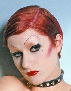 Little Nell as Columbia in The Rocky Horror Picture Show, 1975.