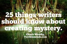 25 Things Writers Should Know About Creating Mystery (NSFW language) Writing Genres, Writing Topics, Editing Writing, Writing Characters, Fiction Writing, Writing Advice, Writing Resources, Writing Help, Writing A Book