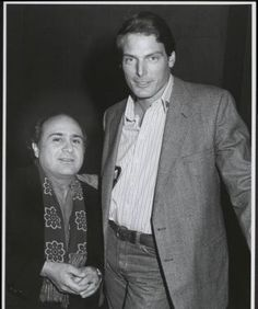 Danny DeVito & Christopher Reeve