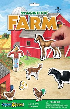 Magnetic Farm Set -- Want to know more, click on the image.Note:It is affiliate link to Amazon.