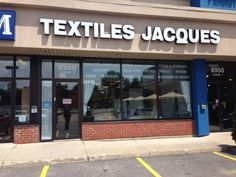 Québec, Québec | Textiles Jacques Inc | Pas de ventes en ligne-No online sales
