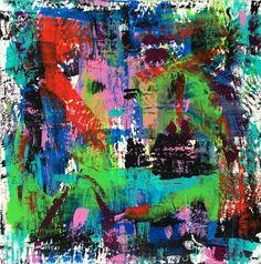 """Painting by Victor-Raul Garcia """"El Míron"""""""