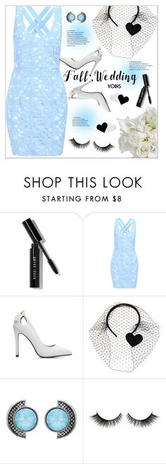 """""""Fall Wedding"""" by meyli-meyli ❤ liked on Polyvore featuring Bobbi Brown Cosmetics, RED Valentino, fallwedding, yoins, yoinscollection and loveyoins"""