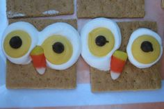 Preschool Crafts for Kids*: Owl S'mores treats Craft