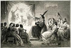 Spectacle de lanterne magique : TROPHONIUS et Geneviève de BRABANT dans Images projetees Brabant-00-150x100