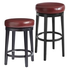 Stratmoor Swivel Bar & Counterstools - Red