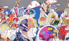 MOON-AGE DAYDREAMS - Heinz Edelmann's Psychedelic Landscapes