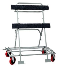 Job Site Window / Door / Panel Dollie - High quality hand trucks for the lowest price! Look no further top notch hand trucks. Panel Doors, Windows And Doors, Panel Saw, Wood Rack, Chalet Style, Studio Setup, Kitchen Styling, Baby Strollers, Workshop