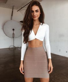 The 'Twist' top is back  plus all new bandage is here  @sophiamiacova such a doll