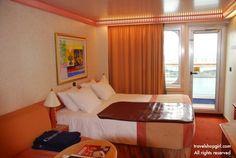 Travel Shop Girl Blog: Carnival Liberty | A Carnival Cruise Line Ship Tour Part II  Balcony cabin on Verandah Deck (deck 8).