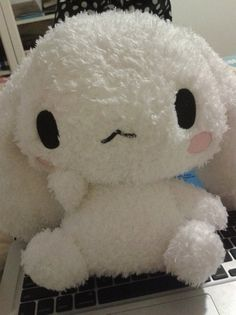 cinamonroll fuzzy plush. Sanrio friends. So kawaii