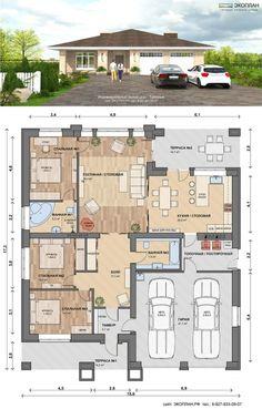 Технико-экономические показатели Площадь дома:>198,0 кв.м. (в т.ч. гараж 47,1 кв.м.) Площадь дома:>1 эт. с мансардой Стоимость Архитектурно-стро...
