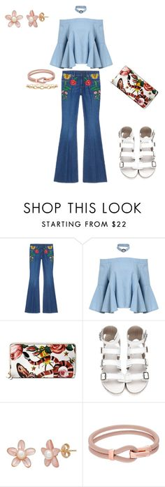"""""""Presenting the Gucci Garden Exclusive Collection: Contest Entry"""" by athuasm ❤ liked on Polyvore featuring Gucci, Michael Kors and gucci"""